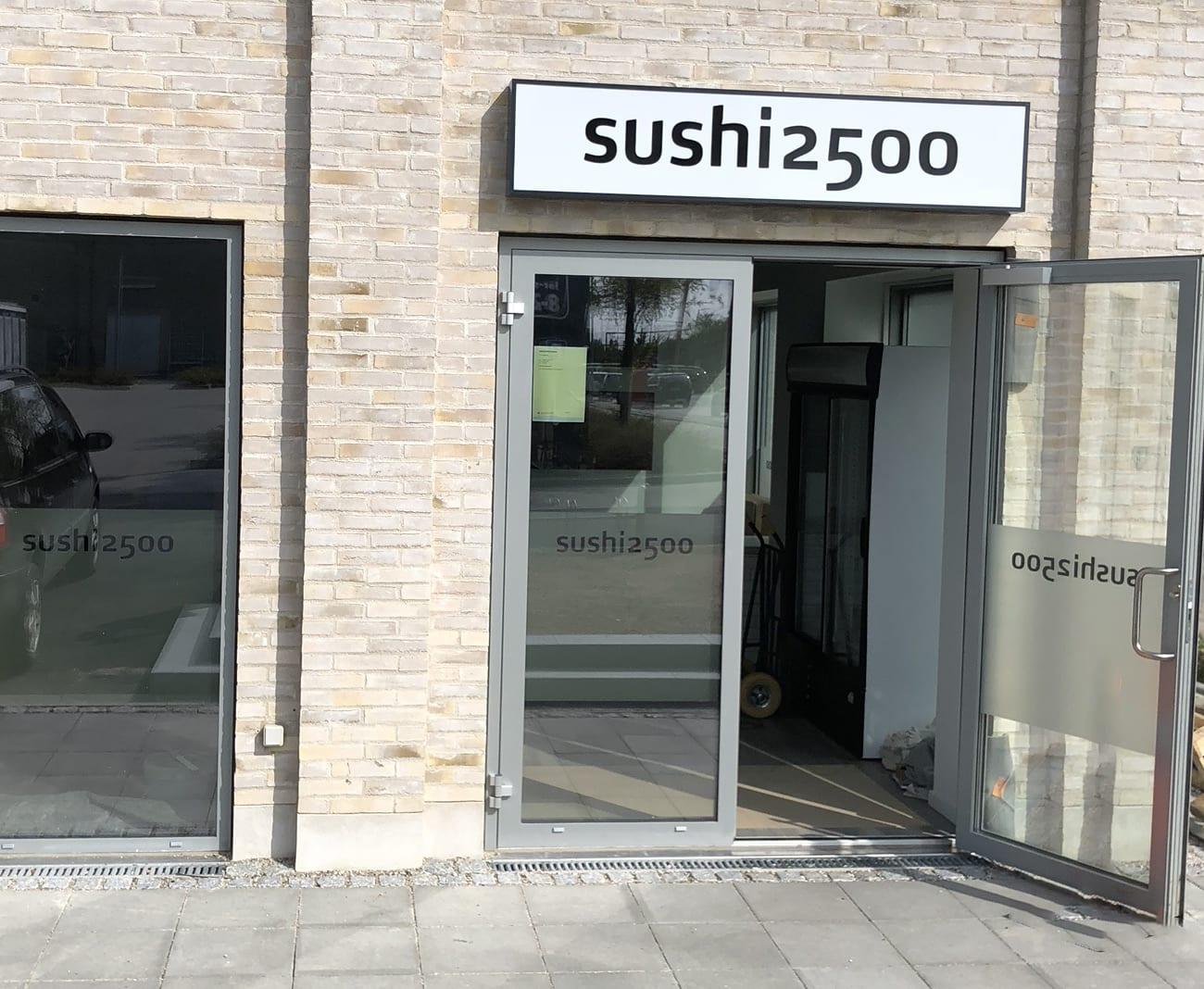 sushi2500 Trekroner
