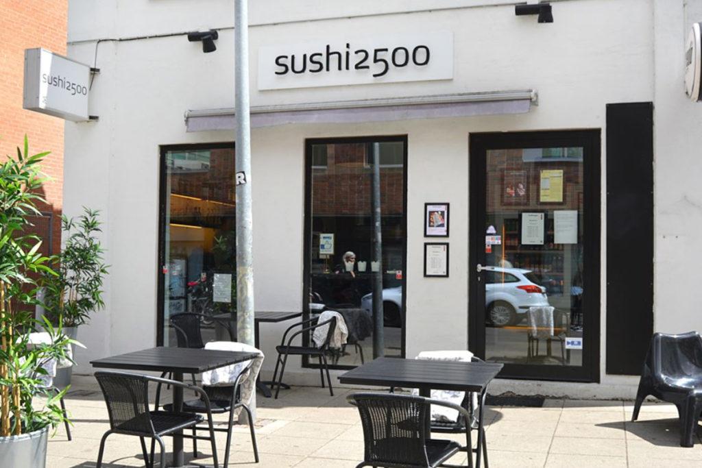 Sushi2500 Skolegade Valby Sushi