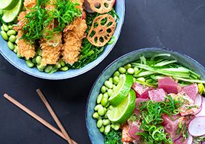 Pokébowls & Salater