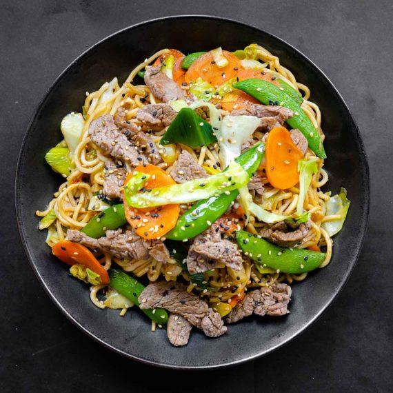 Det Varme - Yakisoba Beef