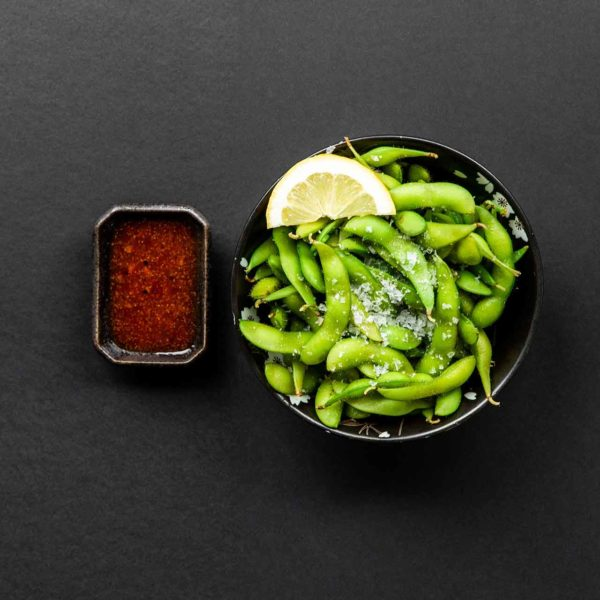 Forretter - Edamame Spicy