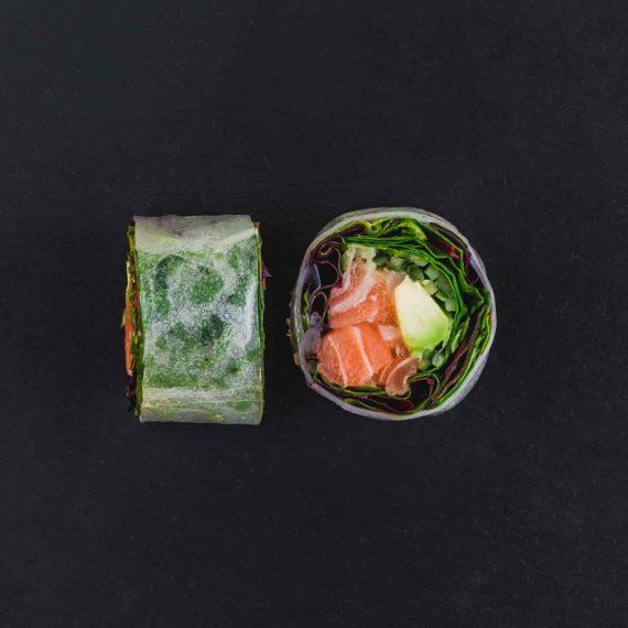 Rispapir - Salmon