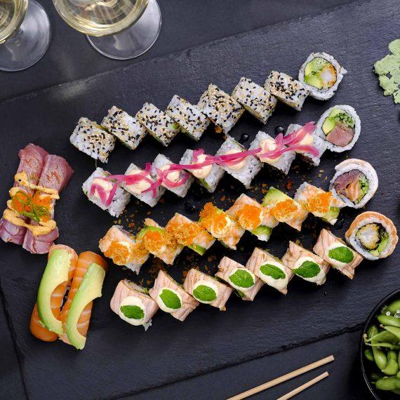 Sushi2500 - Downtown Deluxe Menu 2020