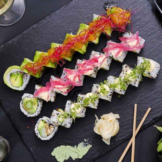 Sushi2500 - Downtown Vegansk Menu 2020