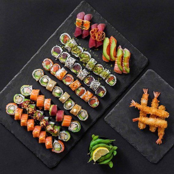Sushi2500 Menuer - oMEGAen